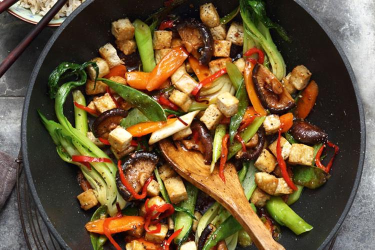 tofu-wok