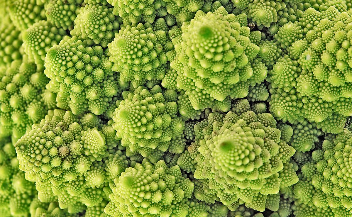 Romanesco, una verdura tan bonita como saludable