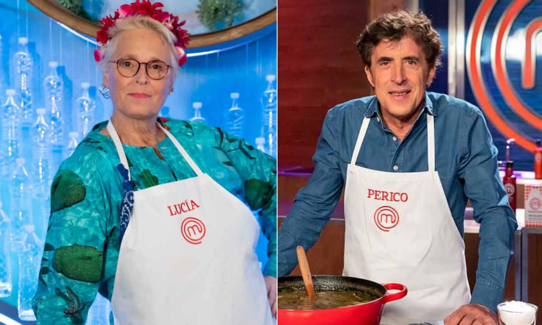 ¡Doble expulsión en 'MasterChef Celebrity'! Adiós a Lucía Dominguín y Perico Delgado