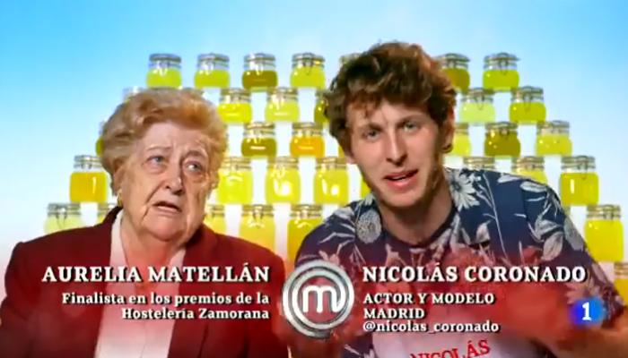 Aurelia y Nicolás Coronado comentan la prueba