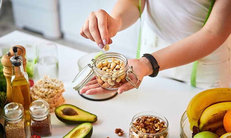 'Snacks' saludables para cuidar la línea a todas horas