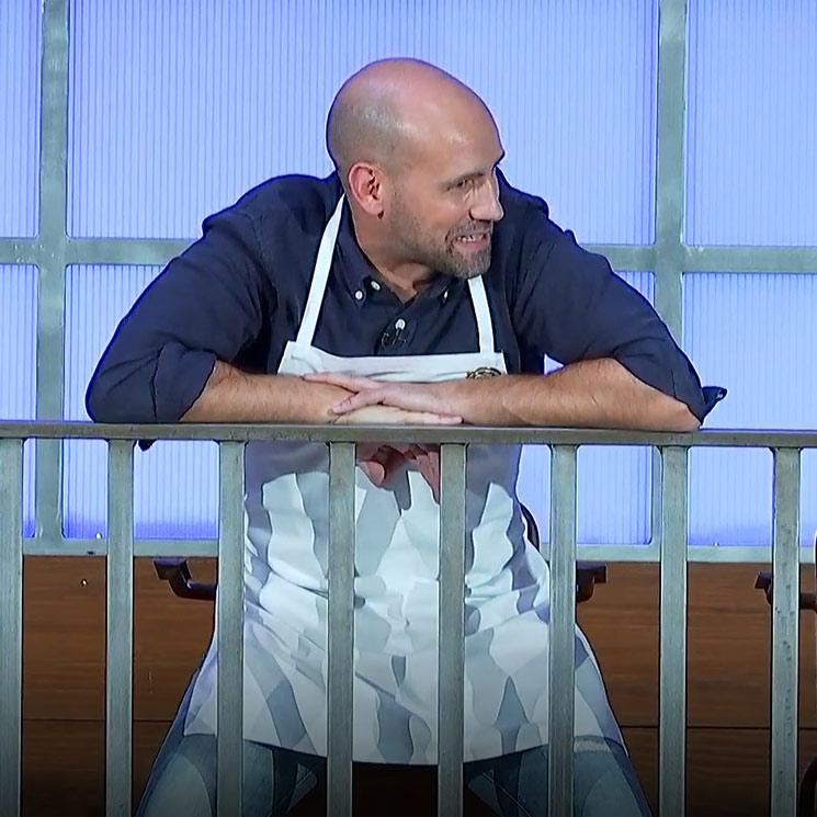 La razón por la que Gonzalo Miró se queda sin cocinar en la primera prueba de 'MasterChef Celebrity'