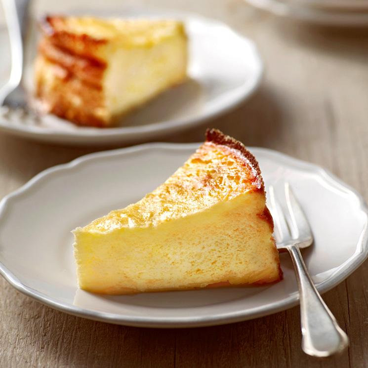 Esta increíble tarta de queso pide a gritos viajar a tu casa