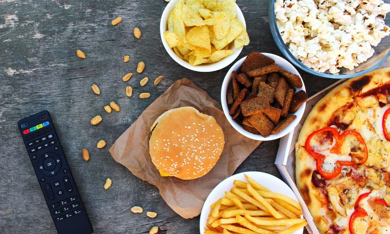 Nueve platos para una noche de película en familia