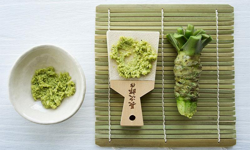 ¿Conoces realmente el auténtico wasabi? Te lo contamos todo
