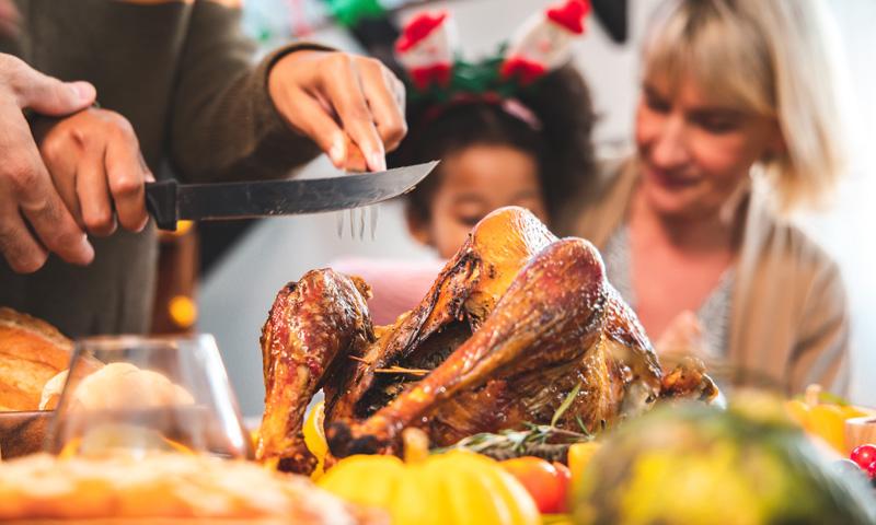 ¿Sabes por qué se cocina pavo en Acción de Gracias?