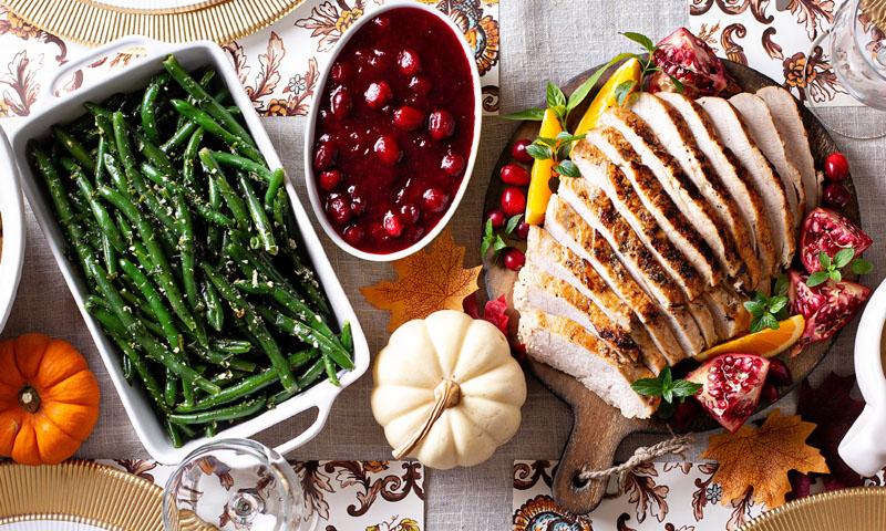 Una cena de Acción de Gracias 5 estrellas para hacer en casa