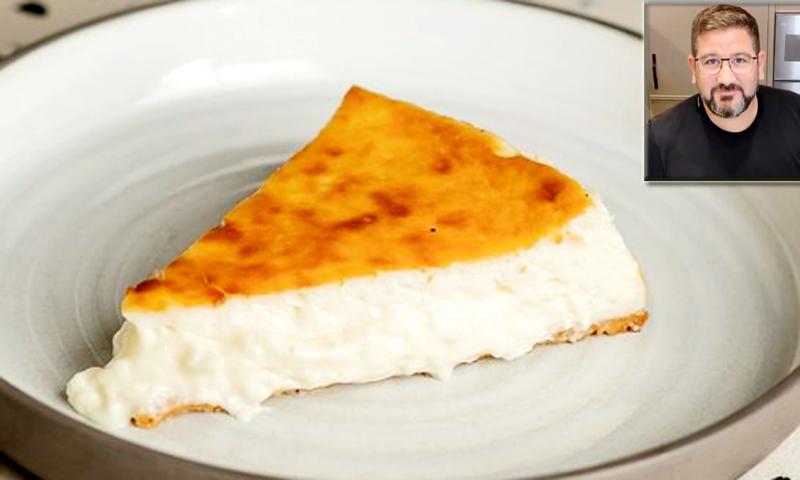 Los trucos para una tarta de queso espectacular, según el chef Dani García