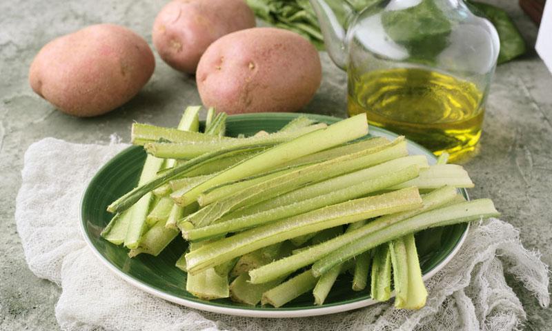 Borraja, una verdura de temporada que nos vuelve locos
