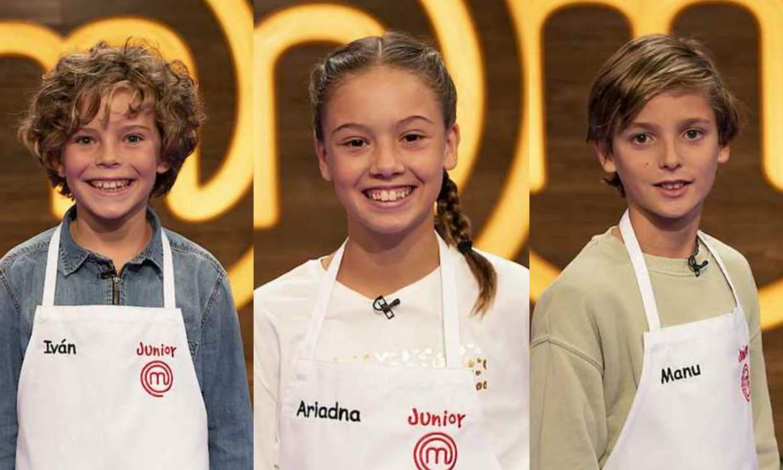 Iván, Manu y Ariadna, primeros expulsados de 'MasterChef Junior'