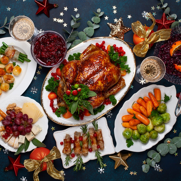 ¿Terminar la Navidad con kilos de más? ¡Evítalo siguiendo estos consejos!