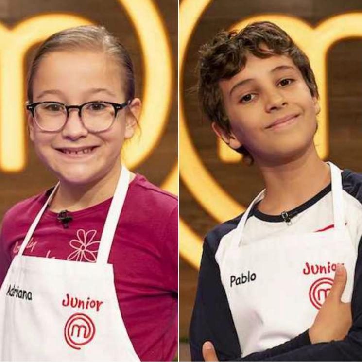Manel, Adriana y Pablo, eliminados de la segunda gala de 'MasterChef Junior'