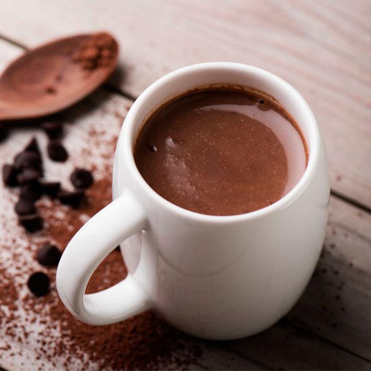 Chocolate a la taza al estilo tradicional