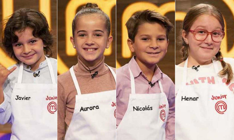Henar, Javi, Aurora y Nico, finalistas de la octava edición de 'MasterChef Junior'