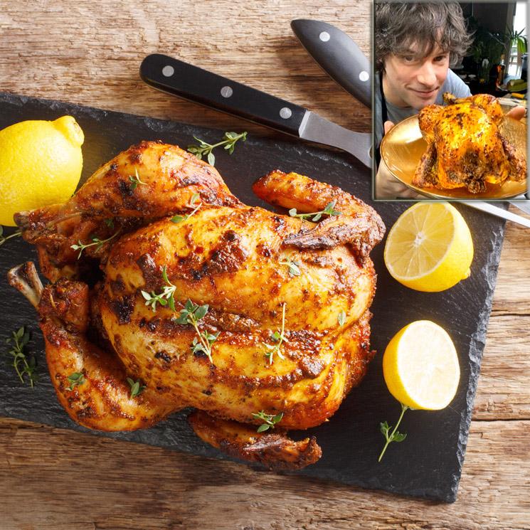Los trucos de Jordi Cruz para preparar un pollo asado… ¡de chuparse los dedos!