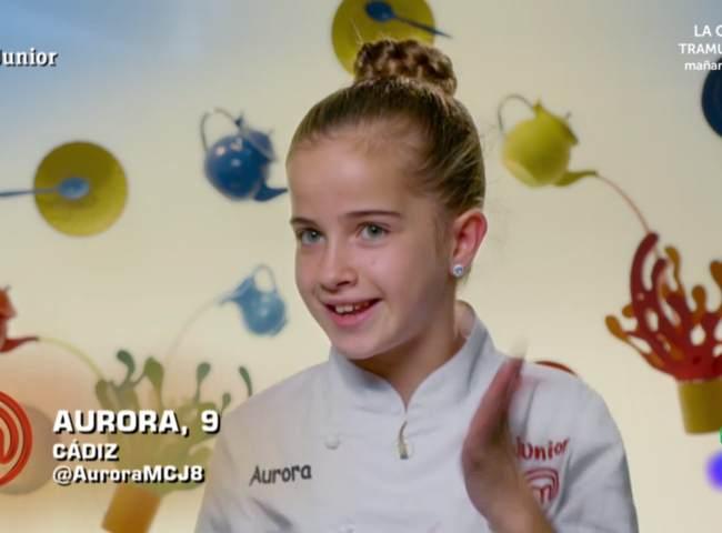 Aurora, ganadora de MasterChef Junior 8