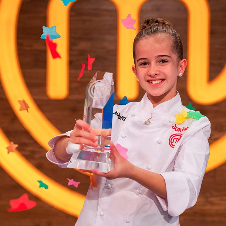 Aurora gana el 'duelo de amigos' a Nico y se alza con la victoria de 'MasterChef Junior 8'