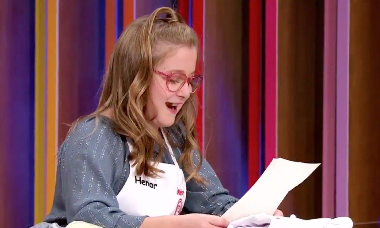 La emoción de Henar al recibir su primera carta de amor de su adorado Jordi Cruz