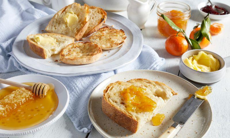 Desayunos fáciles y rápidos con tostadas recién hechas