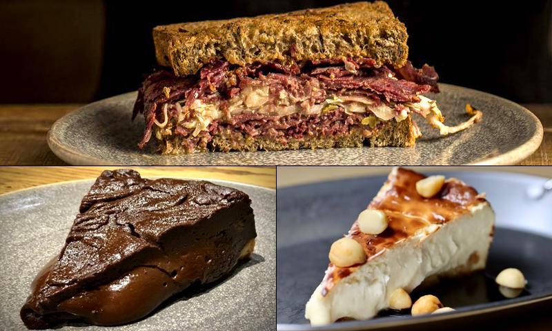 Comida a domicilio: ¿Pedimos un sándwich de pastrami? Sí, y de postre... ¡tarta!