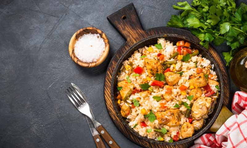 Recetas con arroz para no complicarte la vida