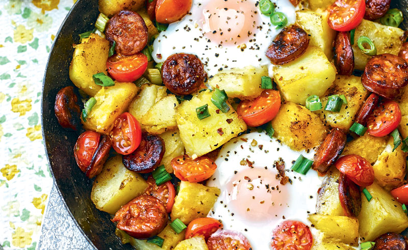 20 recetas fáciles con huevo listas en menos de 25 minutos