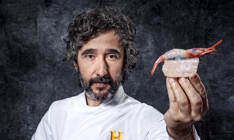 Así sería hoy el menú de 'La Última Cena', según el chef Diego Guerrero