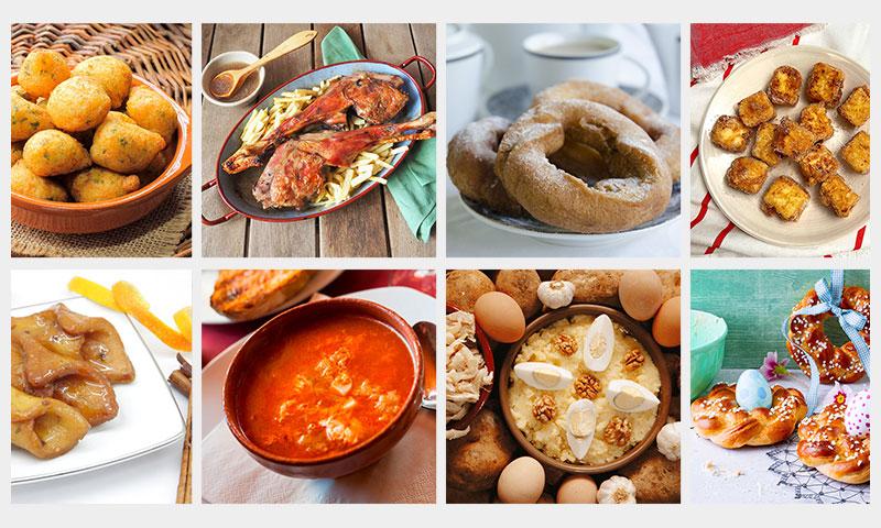 Nuestras 10 mejores recetas para Semana Santa