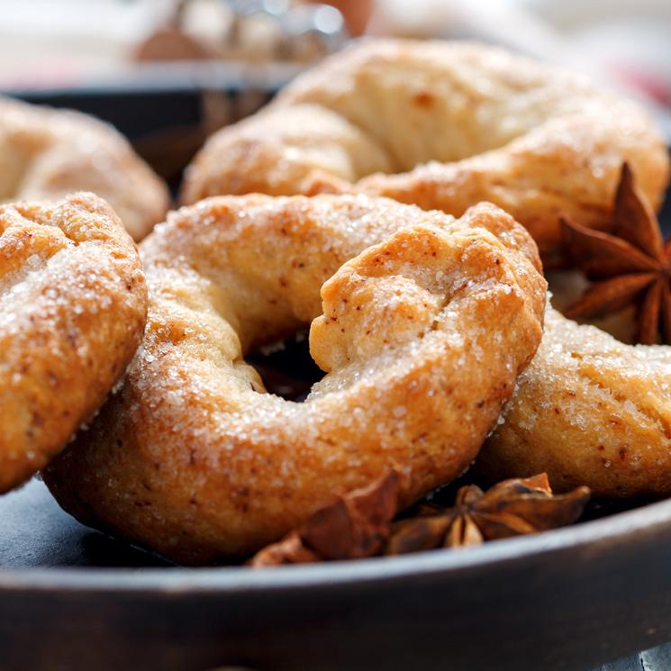 Rosquillas de Semana Santa: ¿cómo hacer que resulten un poco más ligeras?