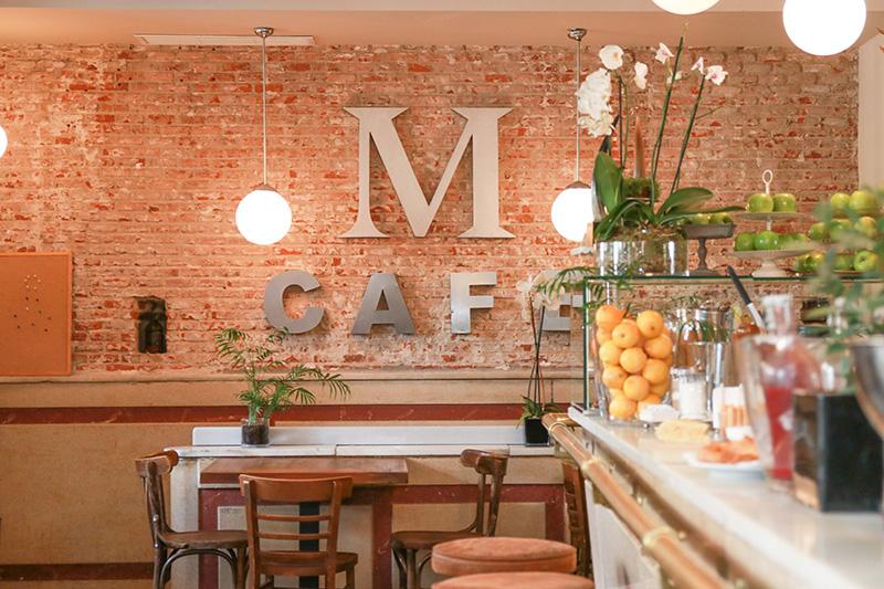Aldo Comas se decanta por el restaurante Murillo Café
