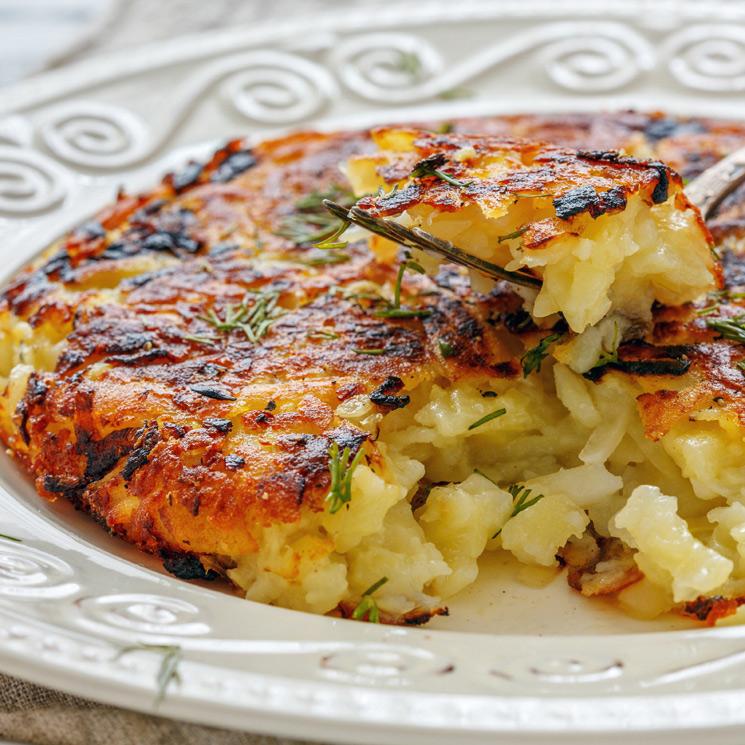 ¿Te gustan las guarniciones con patata? Entonces, ¡tienes que probar el 'Rosti'!