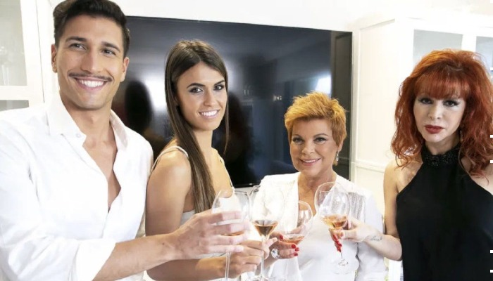 Gianmarco Onestini, Sofía Suescun, Terelu Campos y Yurena