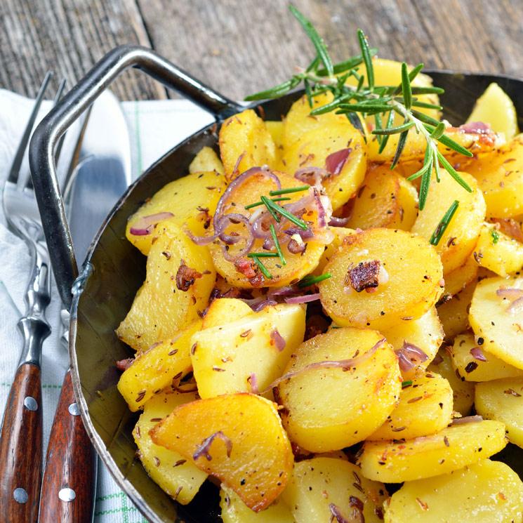 Patatas al estilo alemán: deliciosas y facilísimas de hacer