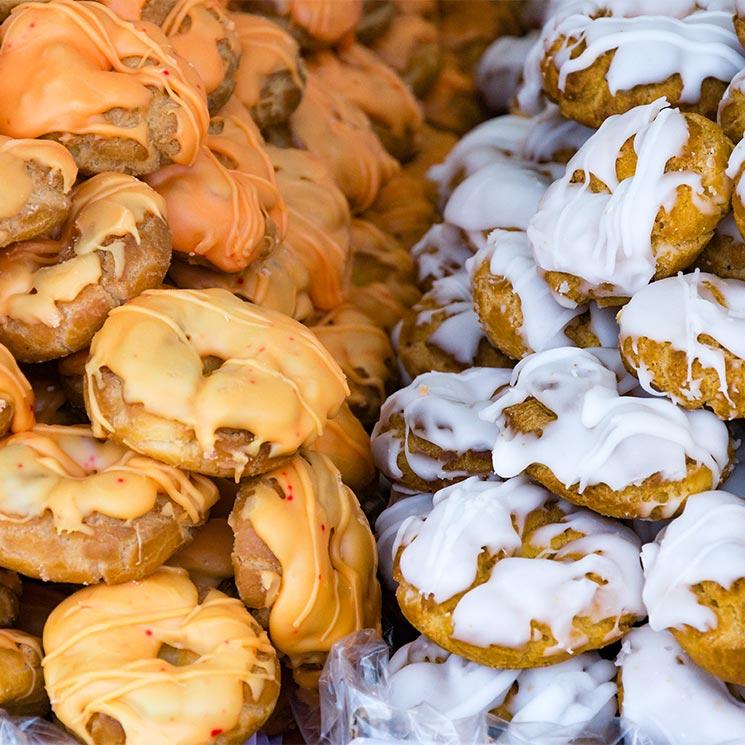 Listas, tontas, de Santa Clara...endulza este San Isidro con sus típicas rosquillas