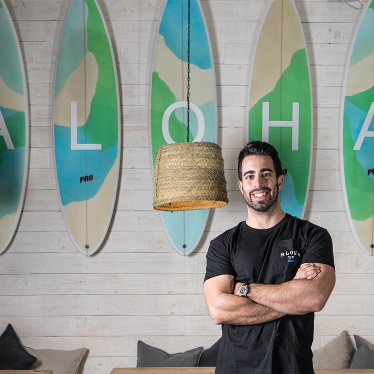 Guillermo Fuente, cofundador Aloha Poké