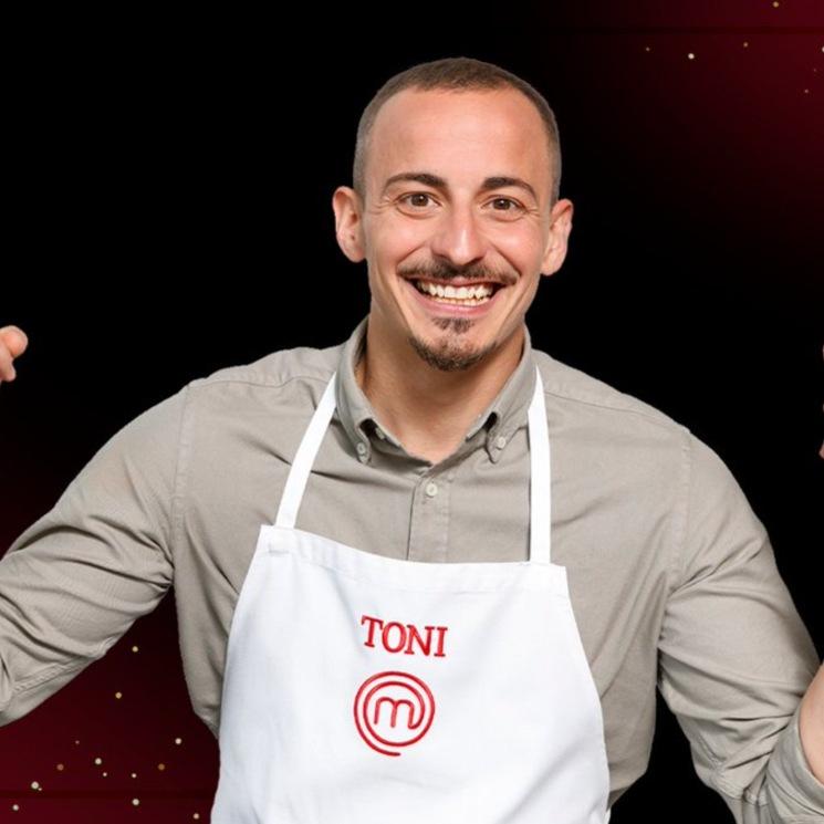 Toni, el jugador de póker profesional, undécimo expulsado de 'MasterChef 9'