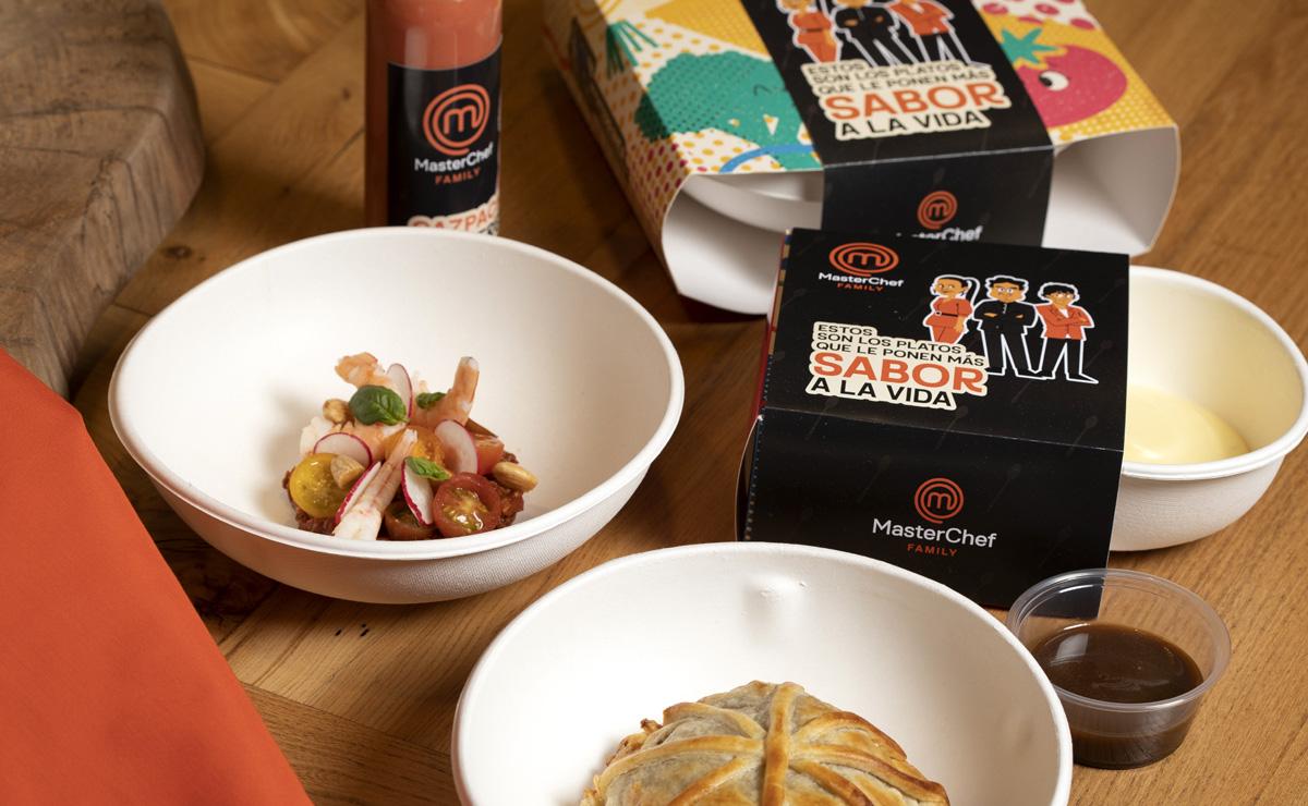 ¿Disfrutar de los platos de MasterChef a domicilio? ¡Ya es posible!