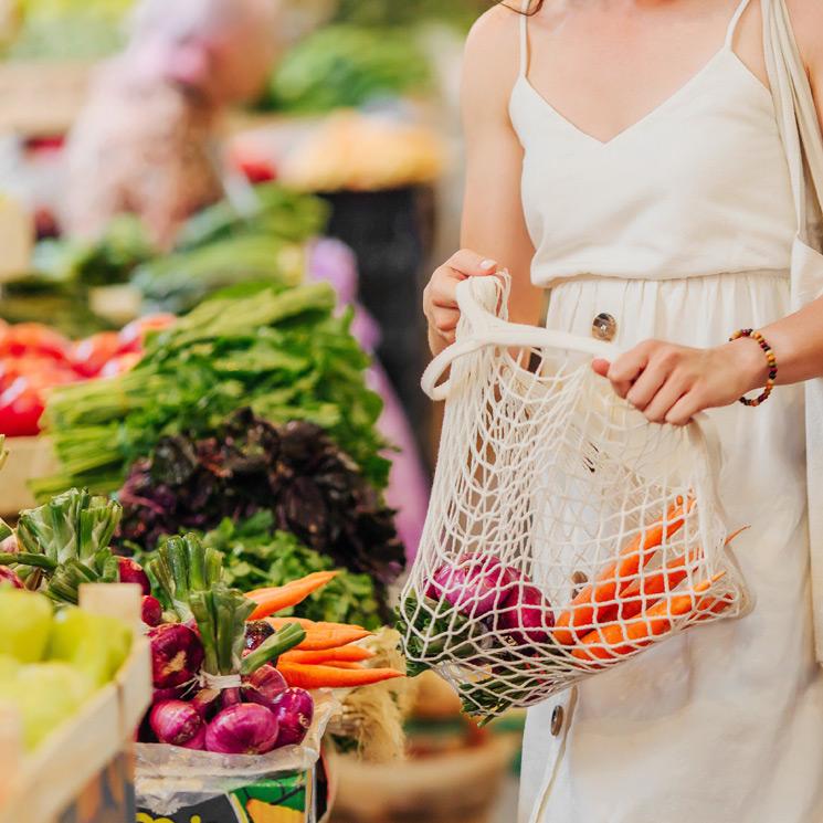 En el mercado: si te haces estas preguntas, tu cesta de la compra será más sostenible