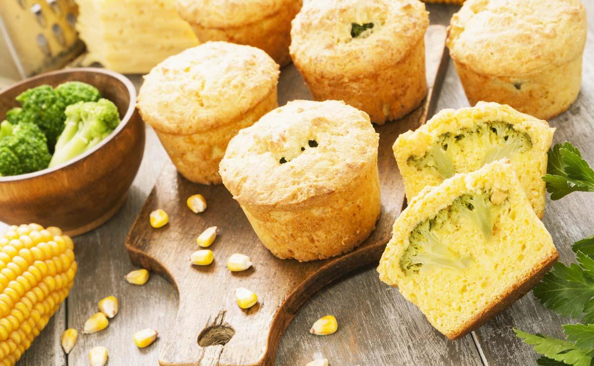 7 recetas fáciles de 'muffins' salados perfectas para cualquier ocasión