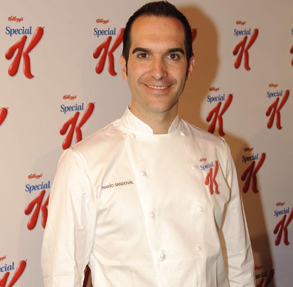 El 'chef' Mario Sandoval te da consejos para cuidar la línea