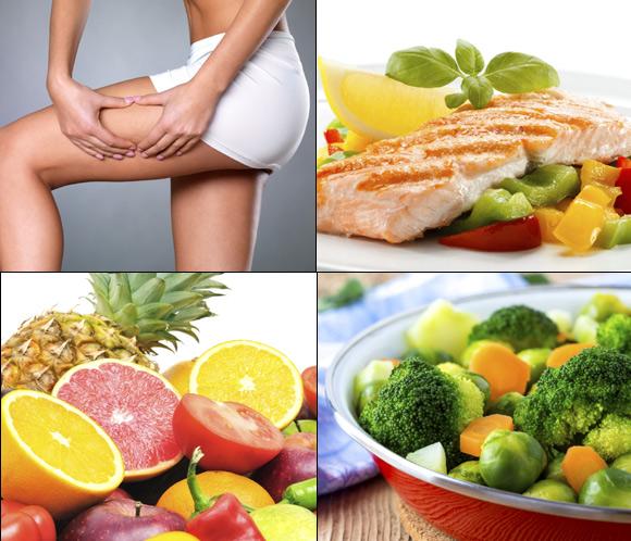 Cinco recetas sanas, ligeras y perfectas para combatir la celulitis