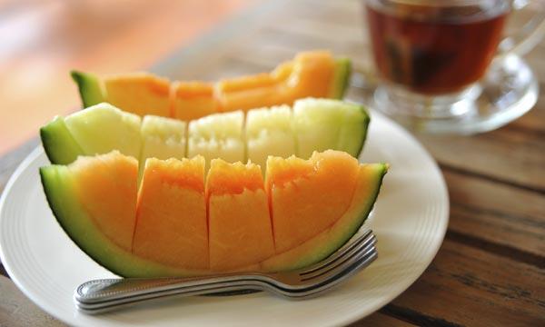 Melón, deliciosa y saludable fruta de temporada