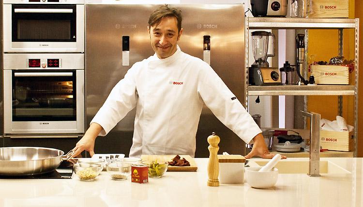 El chef Isma Prados nos enseña a cocinar un menú sencillo, rico y saludable