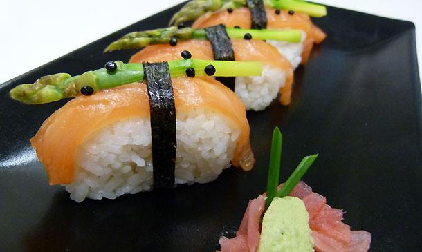 ¿Intentas perder unos kilos? ¡Incluye 'sushi' en tu dieta!