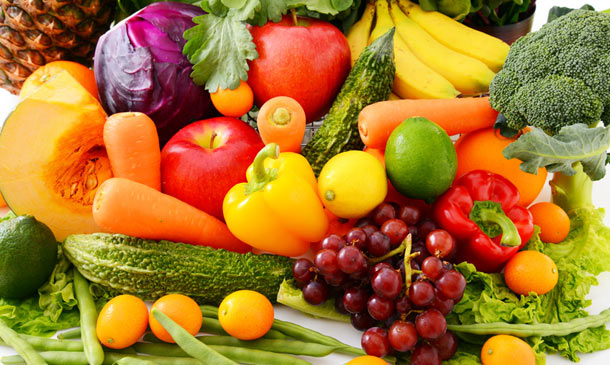 La importancia de incluir frutas y verduras en la dieta for Como secar frutas para decoracion