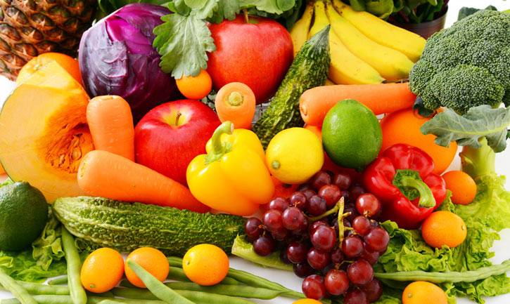 frutas y verduras frutas y verduras