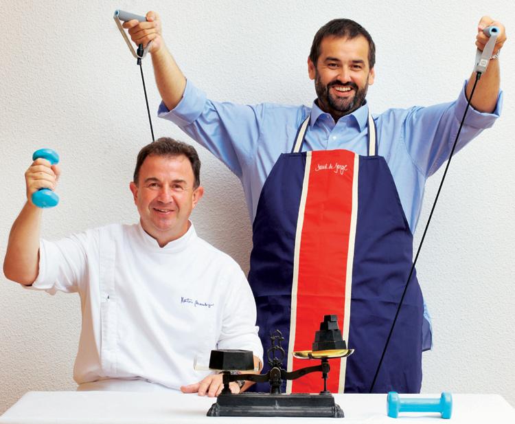 Operaci n bikini dos postres ligeros y deliciosos por for La cocina de david de jorge