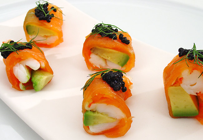 cocina con salmon