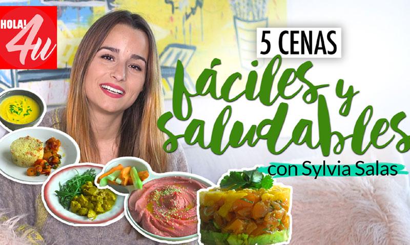 En vídeo: Cinco cenas fáciles, saludables y muy sabrosas, por Sylvia Salas