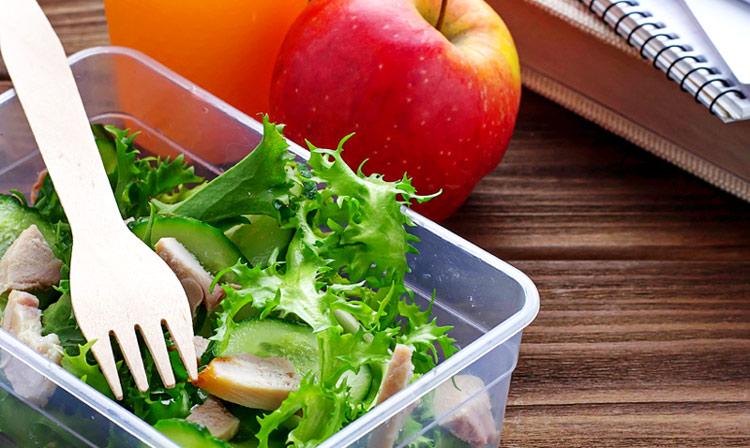 Con el 'tupper' a la oficina: ideas sanas y nutritivas